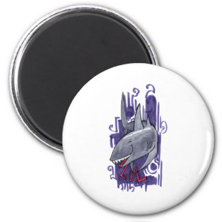 Shark LOL Magnet