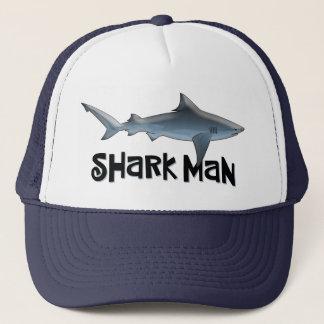 Shark Man Trucker Hat