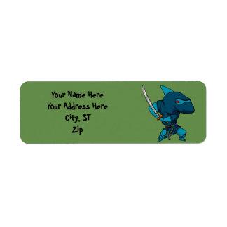 Shark ninja return address label