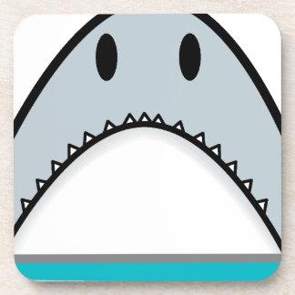 Shark nose drink coaster