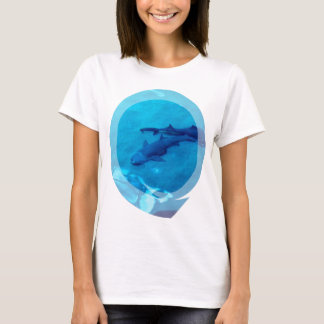 Shark Pair Ladies T-Shirt