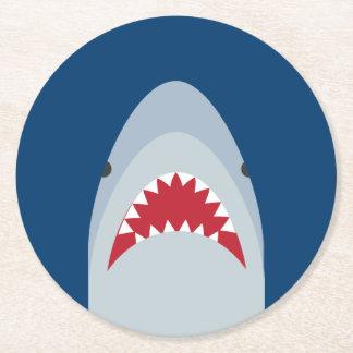 Shark Paper Coaster Set