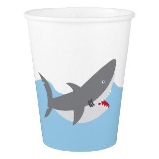 Shark Paper Cups