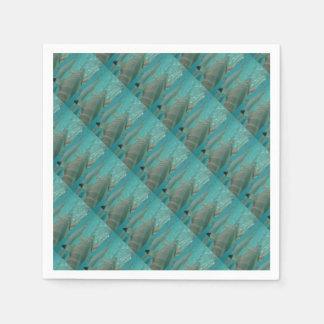 shark paper napkin
