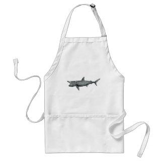 Shark pilgrim standard apron