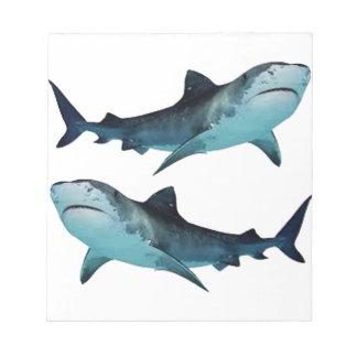 Shark Rally Notepad