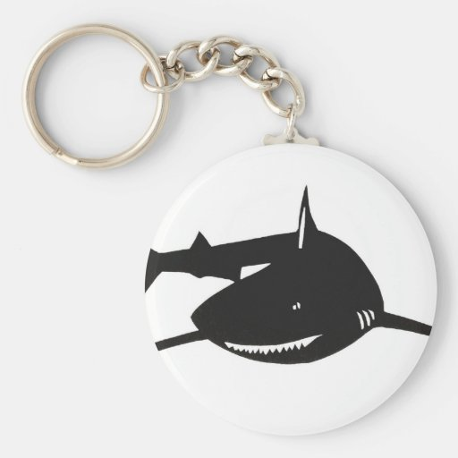 Shark shark cutting picture goods key chains