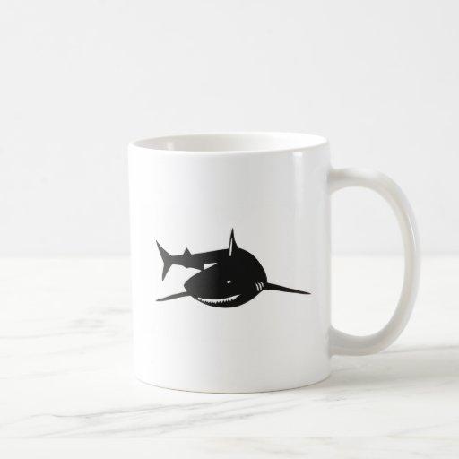 Shark shark cutting picture goods coffee mugs
