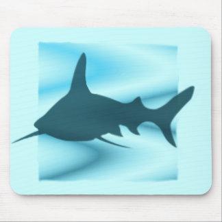 Shark Silhouette Mousepad