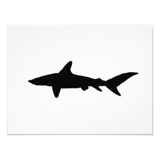 Shark Silhouette Photo Art