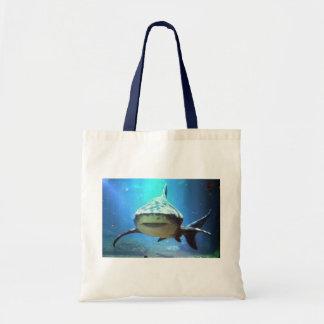 Shark Small Canvas Bag