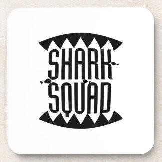 Shark Squad Funny Gift Kids Women Men Coaster