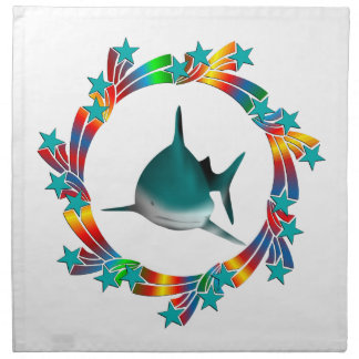 Shark Stars Napkin