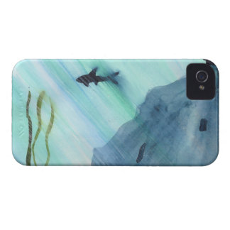 Shark Swimming iPhone 4 Cover