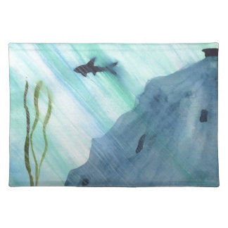 Shark Swimming Placemat