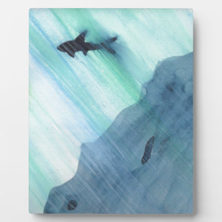 Shark Swimming Plaque