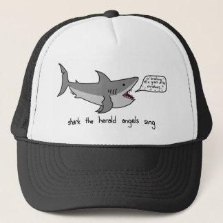 shark the herald angels sing trucker hat