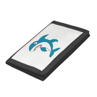 Shark Trifold Wallets