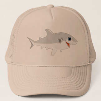Shark ! trucker hat