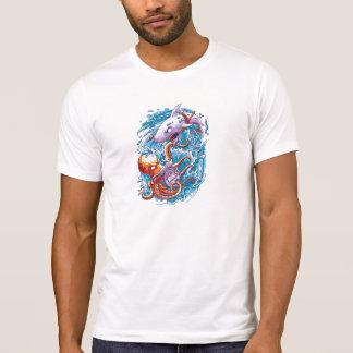 Shark vs giant octopus T-Shirt