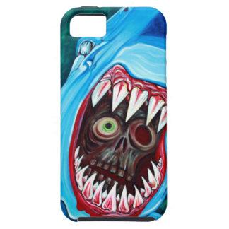 Shark Vs Zombie Tough iPhone 5 Case