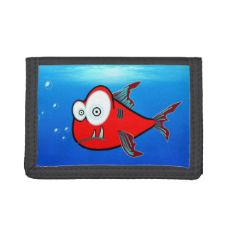 Shark wallets, Kids wallet. Red shark wallet