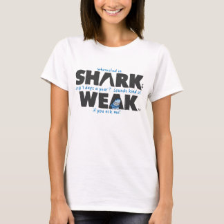 Shark weak white t-shirt