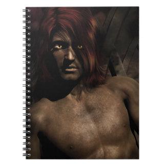 Shar'Ka Demon King Fantasy Art Notebooks