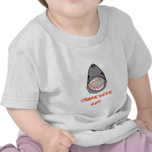 Sharkbite for Shark Week August 10-17 2014 in Grey Tshirts