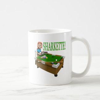 Sharkette Basic White Mug