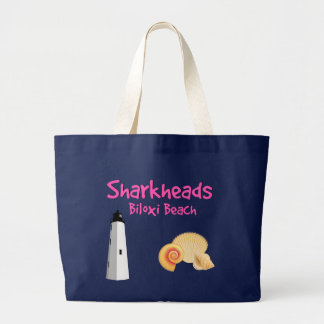 Sharkheads Biloxi Beach Tote Bag