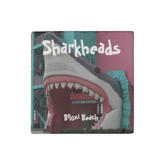 Sharkheads Shark Head Marble Magnet