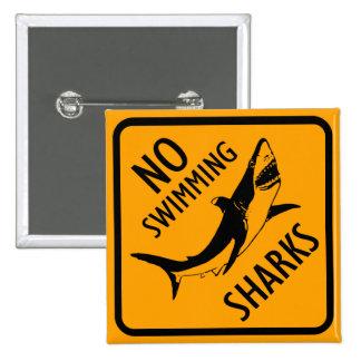 Sharks Australia Sign 15 Cm Square Badge