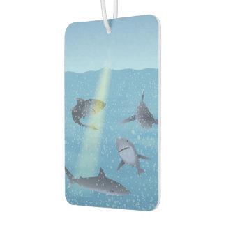 Sharks Car Air Freshener