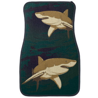 Sharks Car Mat