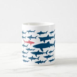 Sharks, go your own way! Mug