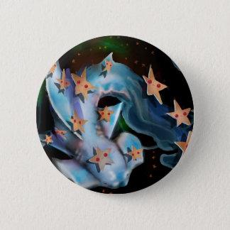 Sharks-Hammerhead 6 Cm Round Badge