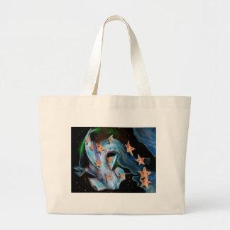 Sharks-Hammerhead Large Tote Bag