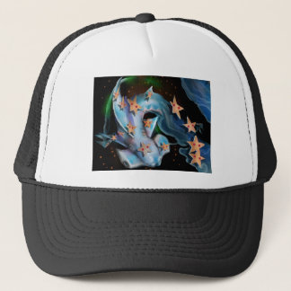 Sharks-Hammerhead Trucker Hat
