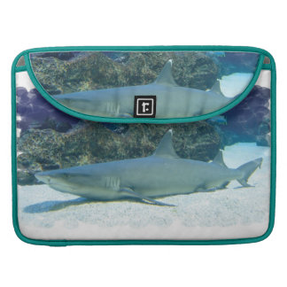 """Sharks in Coral Reef 15"""" MacBook Sleeve MacBook Pro Sleeves"""