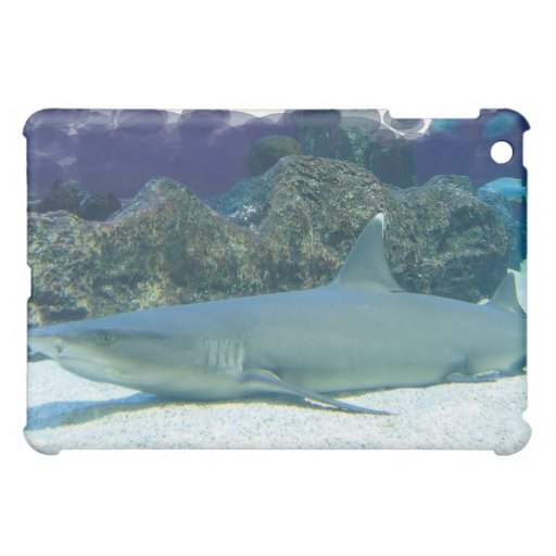 Sharks in Coral Reef iPad Case