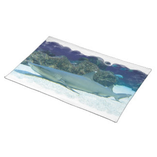 Sharks in Coral Reef Placemat