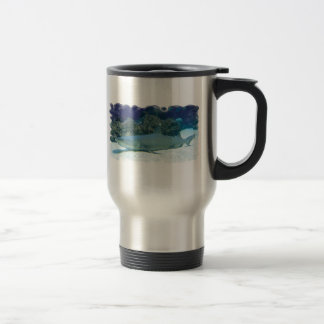 Sharks in Coral Reef Stainles Travel Mug