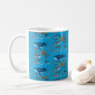 Sharks Of The Oceans Coffee Mug