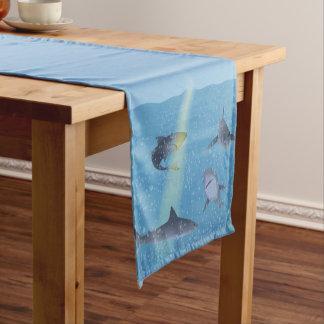 Sharks Short Table Runner