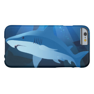 Sharks swimming barely there iPhone 6 case