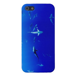 Sharks Underwater Cover For iPhone 5/5S