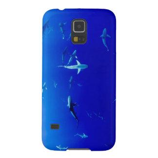Sharks Underwater Galaxy S5 Cases