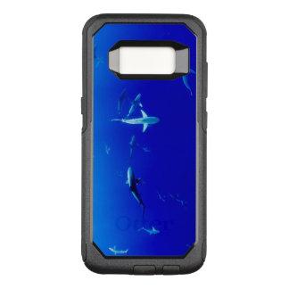 Sharks Underwater OtterBox Commuter Samsung Galaxy S8 Case