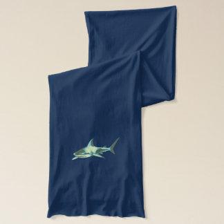 sharks wild sea animal-themed scarf